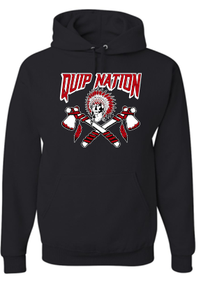 QUIP NATION MOISTURE WICKING HOODIE