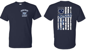 CV ARCHERY NAVY SHORT SLEEVE TSHIRT