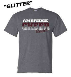 AMBRIDGE GLITTER CHEER TSHIRT