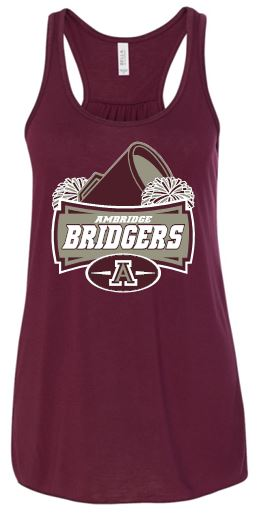 AMBRIDGE CHEER FLOWY TANK TOP