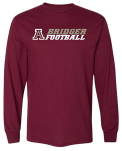 AMBRIDGE FOOTBALL LONG SLEEVE TSHIRT