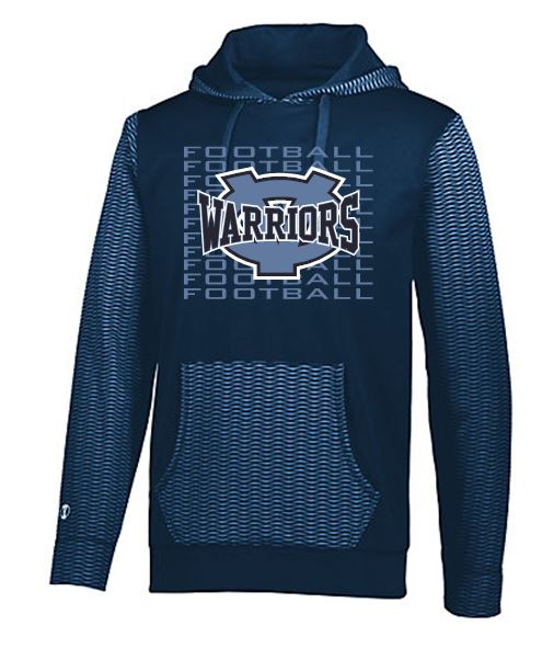 CV WARRIORS SUBLIMATED MOISTURE WICKING HOODIE