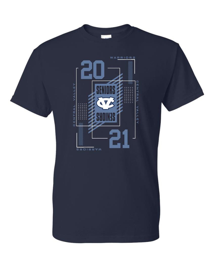 Central Valley Class of 2021 Tshirt