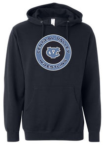 WARRIOR WRESTLING COTTON HOODIE NAVY