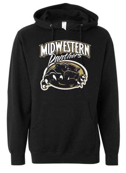 MIDWESTERN PANTHERS COTTON HOODIE