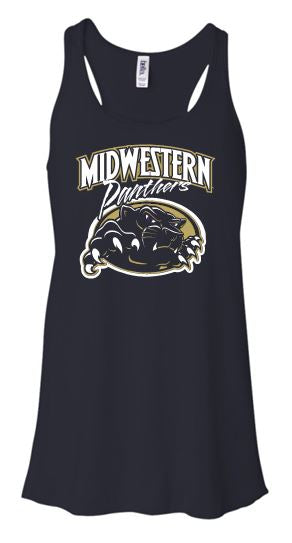 MIDWESTERN PANTHERS FLOWY TANK TOP
