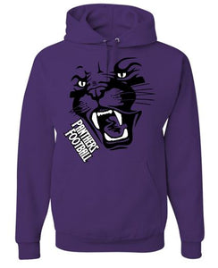PANTHER FOOTBALL COTTON HOODIE