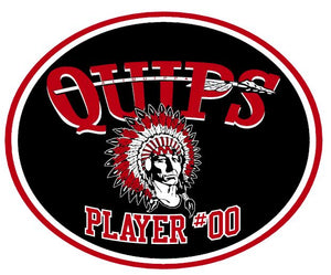 QUIPS PLAYER CAR DECAL