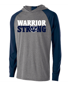 WARRIOR STRONG LIGHWEIGHT MOISTURE WICKING HOODIE