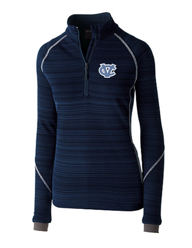 CV WOMENS HOLLOWAY DEVIATE 1/2 ZIP PULLOVER