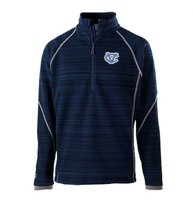 CV MENS HOLLOWAY DEVIATE 1/2 ZIP PULLOVER