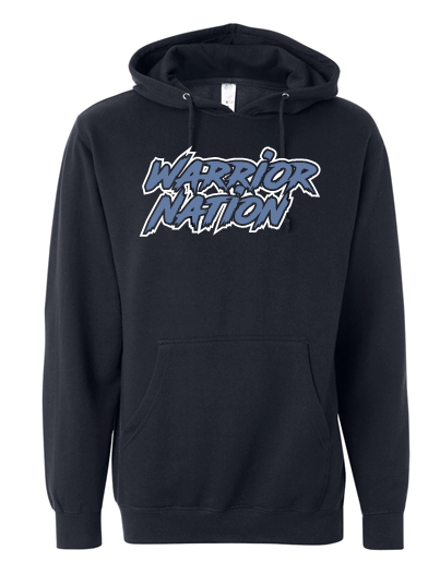 WARRIOR NATION COTTON HOODIE