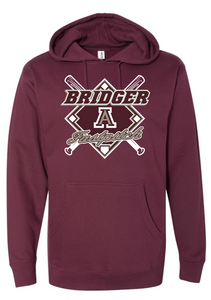 BRIDGERS FASTPITCH COTTON HOODIE