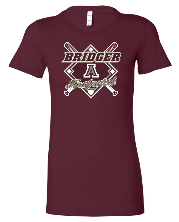 BRIDGERS FASTPITCH SHORT SLEEVE BELLA TSHIRT