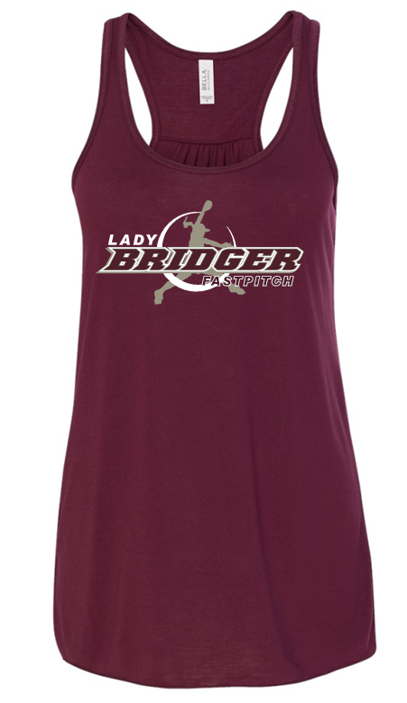 LADY BRIDGERS FASTPITCH FLOWY TANK TOP