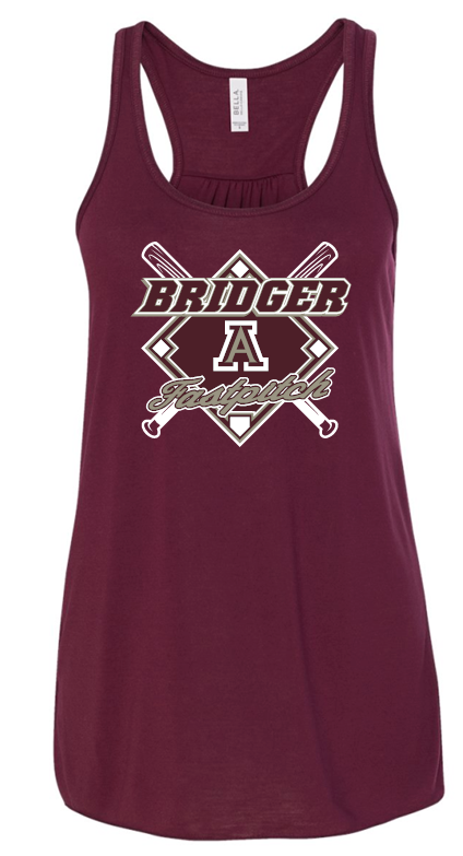 BRIDGERS FASTPITCH FLOWY TANK TOP