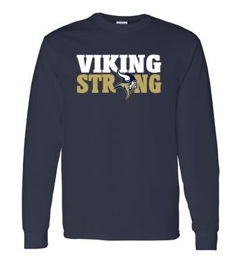 VIKING STRONG LONG SLEEVE GILDAN TSHIRT