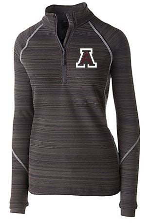 AMBRIDGE WOMENS HOLLOWAY DEVIATE 1/2 ZIP PULLOVER