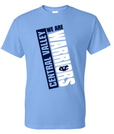CV WARRIORS WE ARE MOISTURE WICKING TSHIRT