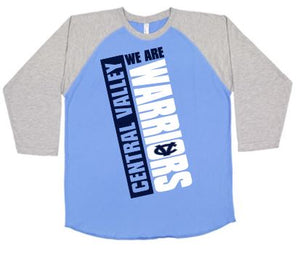 CV WARRIORS WE ARE RAGLAN TSHIRT
