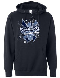 CV WARRIORS CHEERLEADING COTTON HOODIE