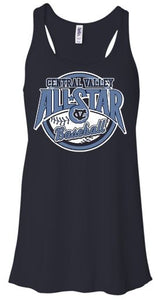 CV ALLSTARS LADIES TANK TOP-NAVY BLUE