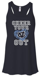 CV WARRIORS CHEEERLEADING FLOWY TANK TOP
