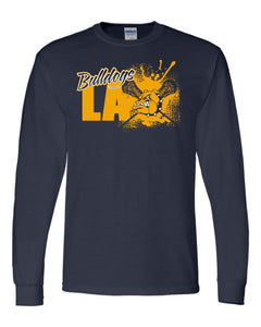 Bulldog Lacrosse Long Sleeve Shirt