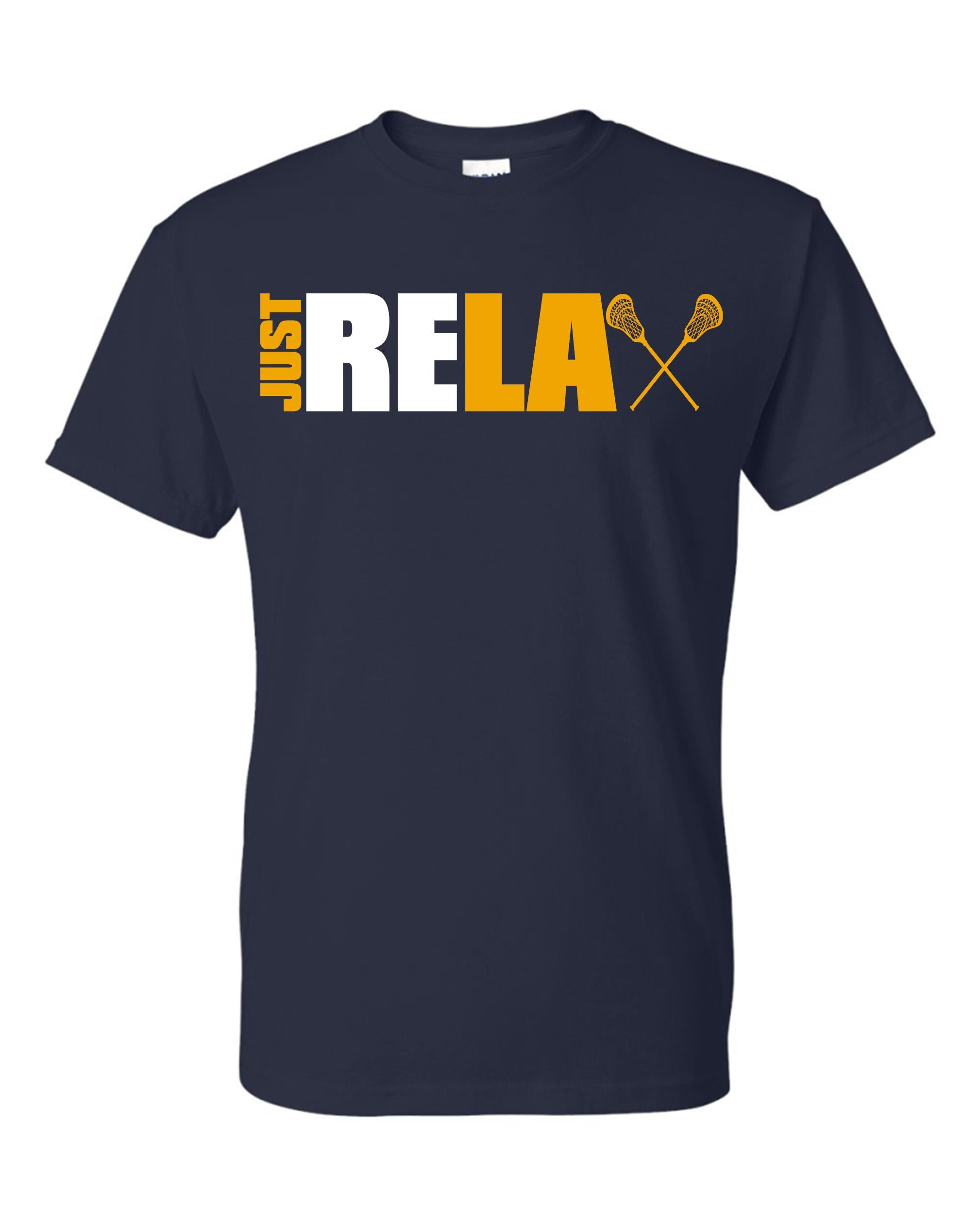 Just Relax Lacrosse Short Sleeve T-shirt