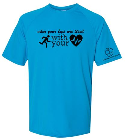 YOUR WELLNESS PUZZLE BLUE CAMP TSHIRT