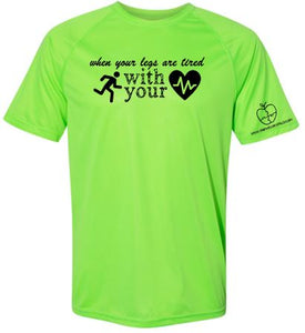 YOUR WELLNESS PUZZLE GREEN CAMP TSHIRT