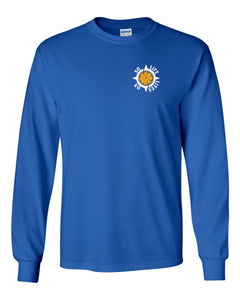 When Life Gives You Lemons Long Sleeve Royal T-shirt