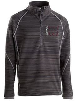 MENS HOLLOWAY DEVIATE BOBCAT 1/2 ZIP PULLOVER