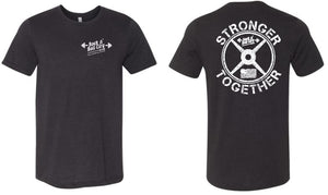 RNR CITY STRONGER TOGETHER BLACK TSHIRT