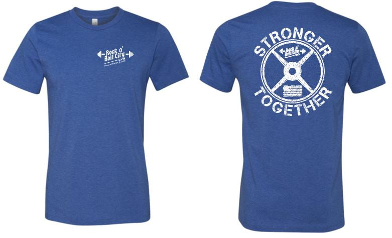 RNR CITY STRONGER TOGETHER ROYAL TSHIRT