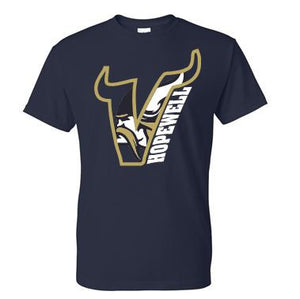 VIKING V SHORT SLEEVE MOISTURE WICKING TSHIRT