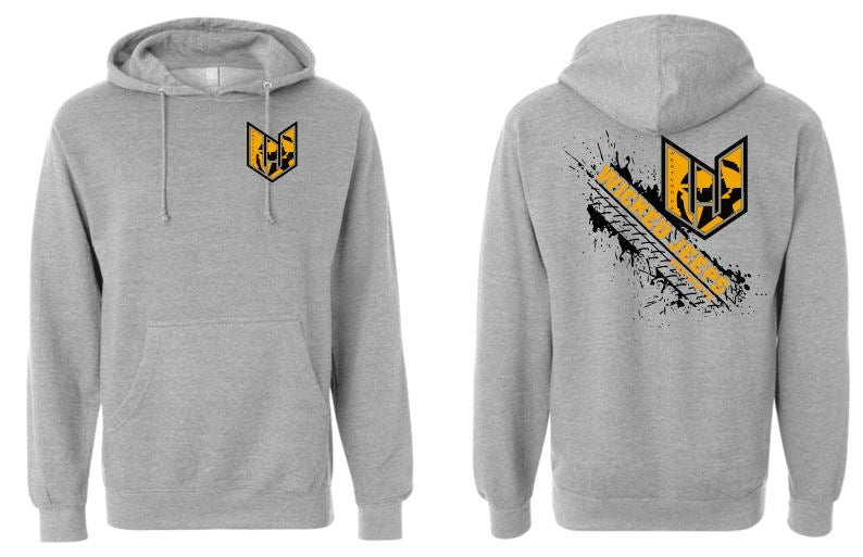WICKED JEEP TIRE PRINT HOODIE