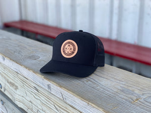 Classic Leather Snapback