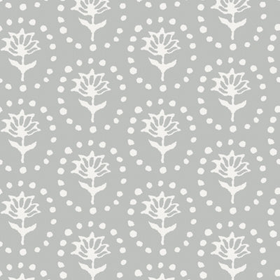 Grey Blotch Daisy Wallpaper