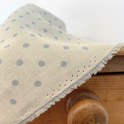 Pacific Blue Totally Dotty Linen