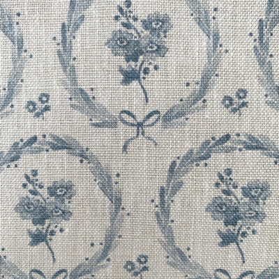 Storm Blue Britta Wreath Linen