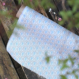 Cornish Blue+Rock Daisy Linen