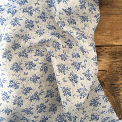 Marine Blue Hedgerow Linen