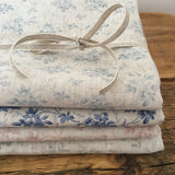 Blue Grey Hedgerow Linen