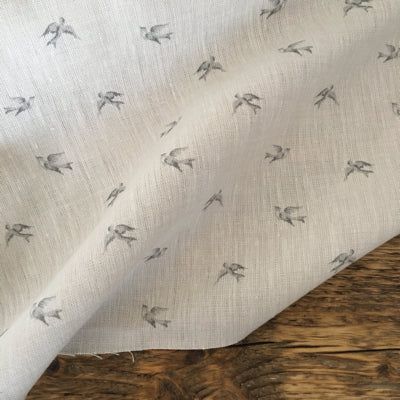 Light Grey Skylark Linen