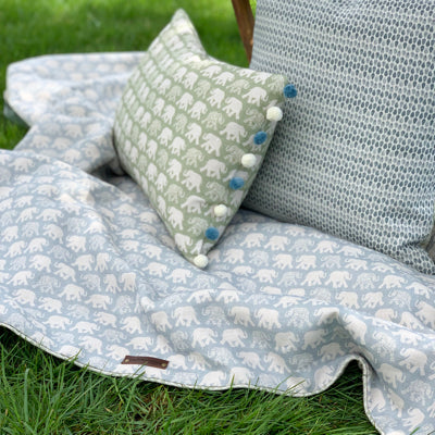 Pacific Blue Mini Nellie Blanket