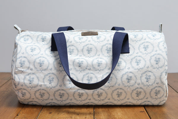 Storm Blue Britta Wreath Weekender Bag