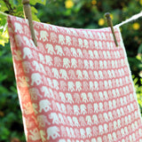 Raspberry Mini Nellie Linen