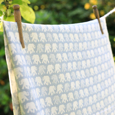 Pacific Blue Mini Nellie Linen