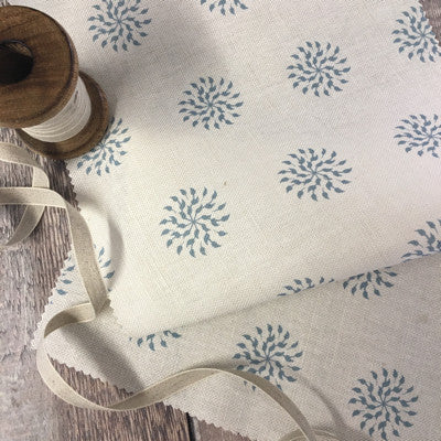 Nordic Blue Nancy Linen